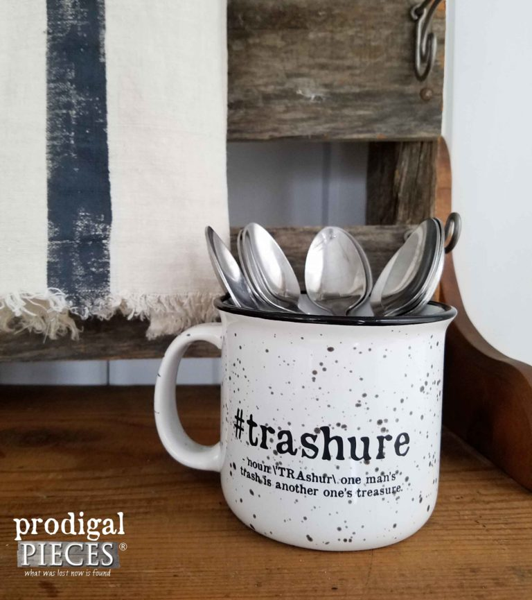 #Trashure Campfire Mug by Prodigal Pieces | prodigalpieces.com