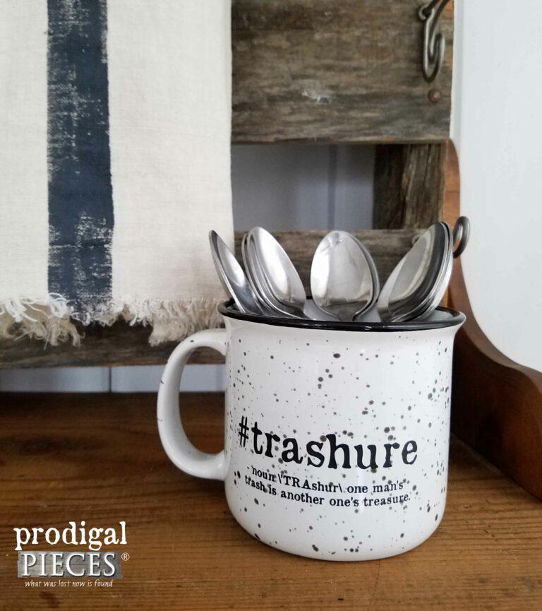#Trashure Campfire Mug by Prodigal Pieces | prodigalpieces.com