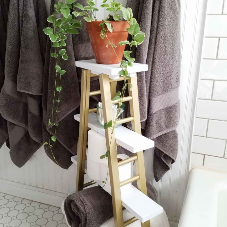 Bed Rails Turned Modern Chic Towel Rack by Prodigal Pieces | prodigalpieces.com