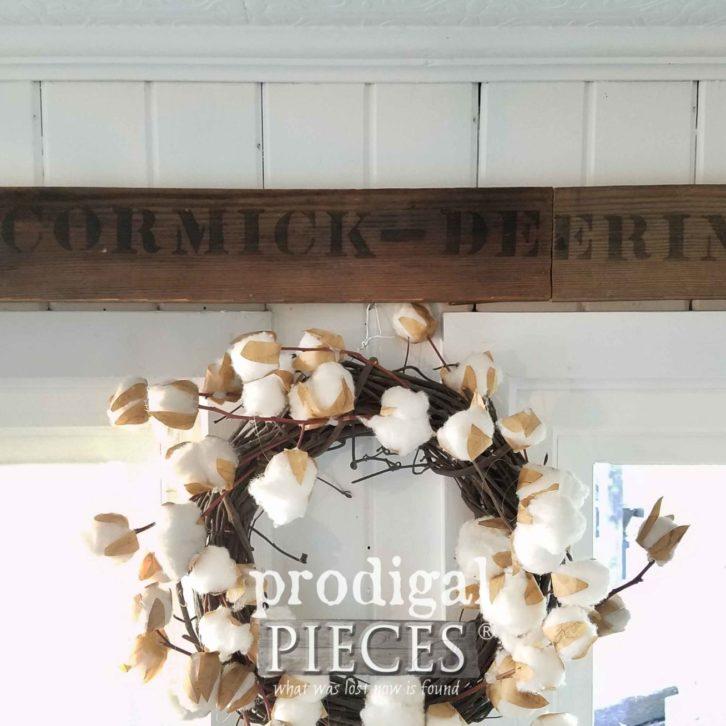 Antique McCormick-Deering Sign ~ Farmhouse Kitchen