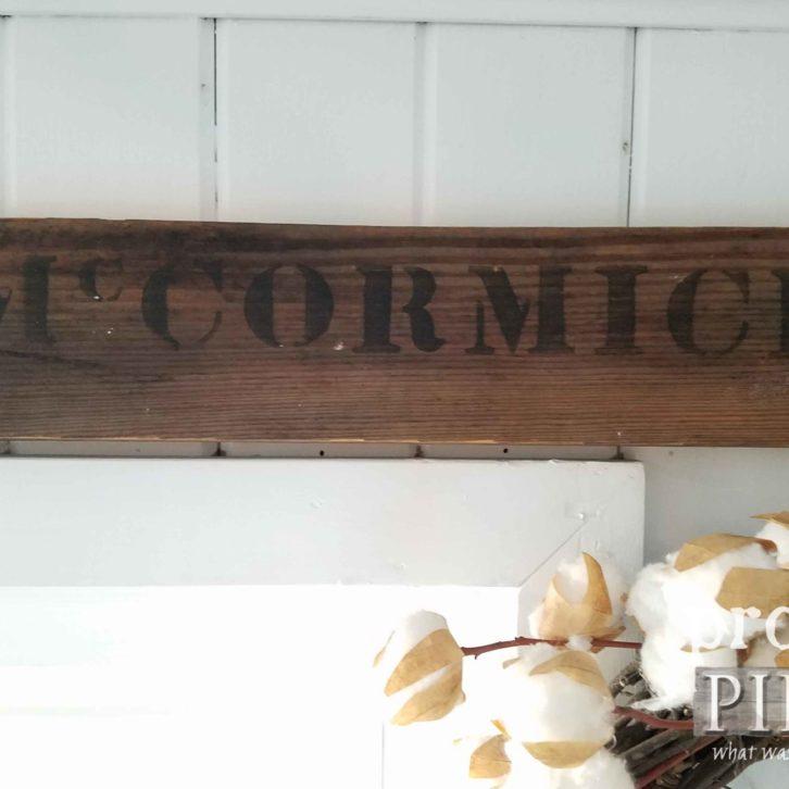 McCormick Sign   prodigalpieces.com