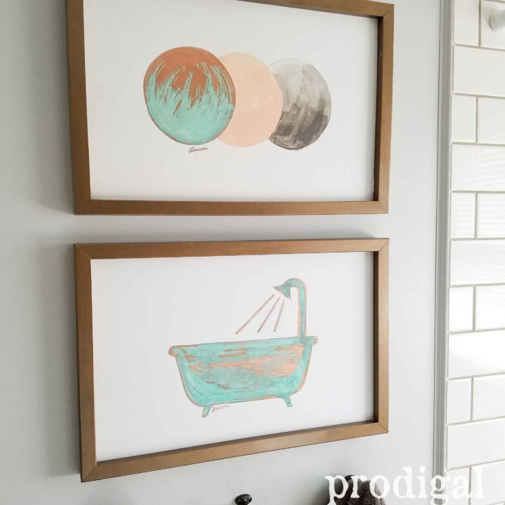 Upcycled Modern Chic Wall Art by Prodigal Pieces | prodigalpieces.com