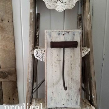 Antique Hay Bale Hook Sconce for Farmhouse Decor available at Prodigal Pieces | prodigalpieces.com