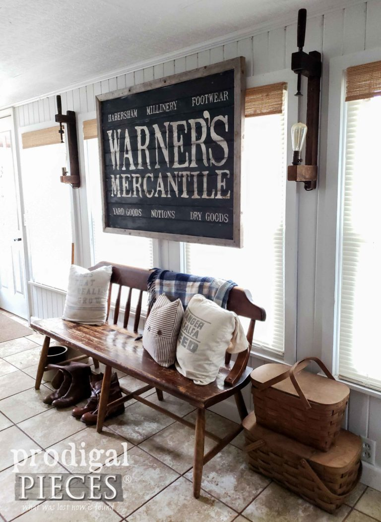 Farmhouse Style Decor available at Prodigal Pieces | shop.prodigalpieces.com