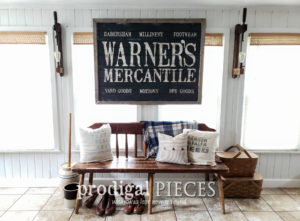 Rustic Farmhouse Large Antique Store Sign by Prodigal Pieces | Available at shop.prodigalpieces.com #prodigalpieces #handmade #farmhouse #home #homedecor