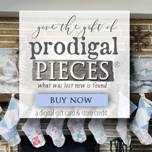Give the Gift of Prodigal Pieces Handmade & Vintage this Christmas | Digital Gift Card to Prodigal Pieces | shop.prodigalpieces.com
