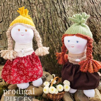 Cute Handmade Sock Dolls & Animals available at Prodigal Pieces | shop.prodigalpieces.com #prodigalpieces #handmade #gifts #toys #kids