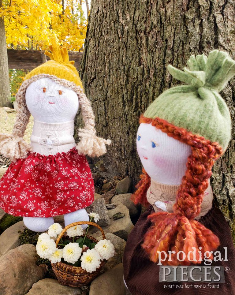 Soft Handmade Sock Dolls by Prodigal Pieces | shop.prodigalpieces.com #prodigalpieces