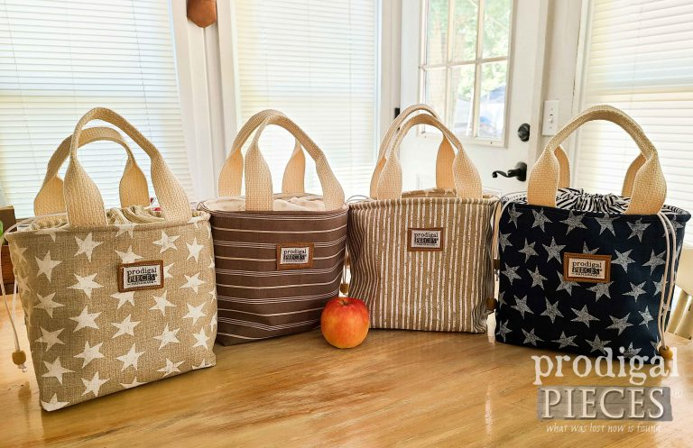 Insulated Lunch Bag Selection by Larissa of Prodigal Pieces | shop.prodigalpieces.com #prodigalpieces #shopping #lunch #handmade #fashion #kids