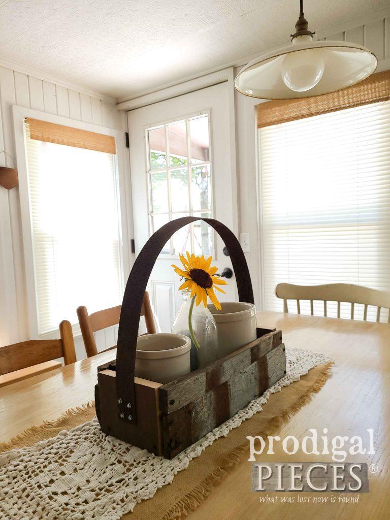 Reclaimed Farmhouse Whiskey Barrel Tote | shop.prodigalpieces.com