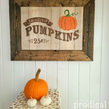 Farmhouse Style Harvest Sign by Prodigal Pieces | shop.prodigalpieces.com #prodigalpieces #diy #home #farmhouse #shopping #handmade