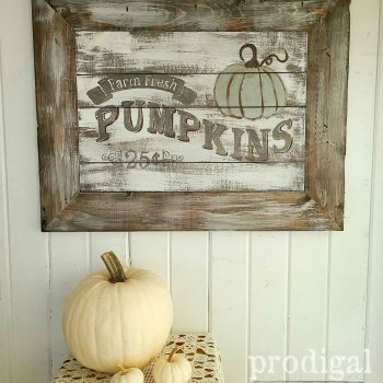 Rustic Chic Harvest Sign by Prodigal Pieces | shop.prodigalpieces.com #prodigalpieces #shopping #farmhouse #home #fall #homedecor