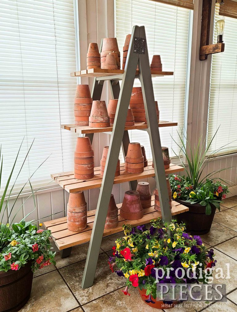 Tiered Ladder Stand by Prodigal Pieces | shop.prodigalpieces.com