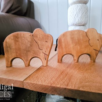 Hand-Carved Wooden Elephants Made by Larissa of Prodigal Pieces | available at shop.prodigalpieces.com #prodigalpieces #shopping #handmade #elephants