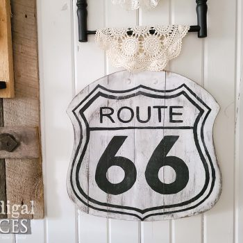 Upcycled Route 66 Sign available at Prodigal Pieces | shop.prodigalpieces.com #prodigalpieces #shopping #farmhouse