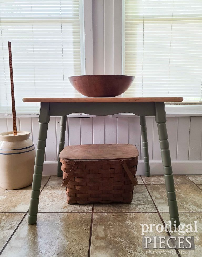 Vintage Farmhouse Table for Living Room available at Prodigal Pieces | shop.prodigalpieces.com #prodigalpieces #farmhouse #shopping #home